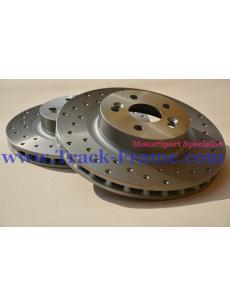 Pair Rotor Brake TF-B1 TF-MotorSport Front Honda S2000 AP1 AP2 99-09 300x25x40