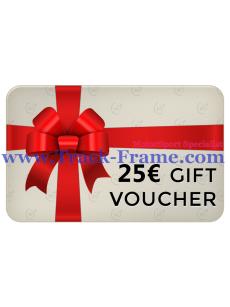 Gift Voucher Track-Frame 25€
