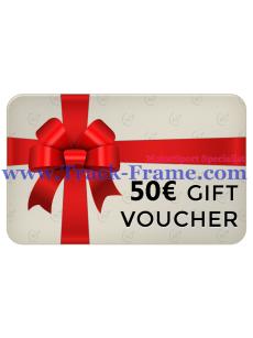 Gift Voucher Track-Frame 50€