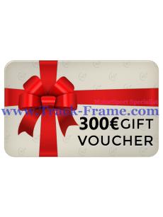 Gift Voucher Track-Frame 300€