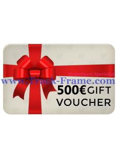 Gift Voucher Track-Frame 500€