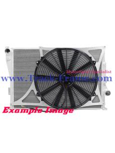 "Mishimotorsports 26""x17""x3.5"" Dual Pass Race Radiator Fan Shroud Kit"