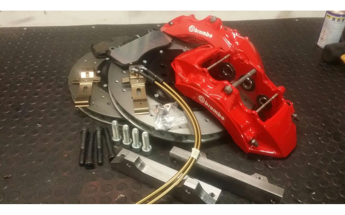 Brake System Customized 6 Piston 376x34