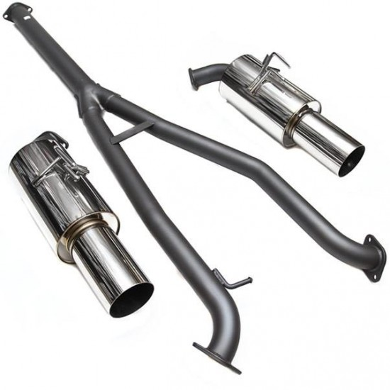 Exhaust System HKS Racing Muffler 31008-BM001 Mitsubishi Evo X