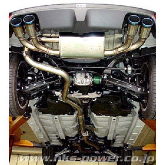 Center Pipe HKS 33004-AF002 Subaru Impreza GRF/GRB/GH8	EJ25 07/06-10/03 Center Pipe HKS  by https://www.track-frame.com