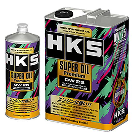 HKS Engine Oil Super Oil Premium 0w25 Gasoline 4L