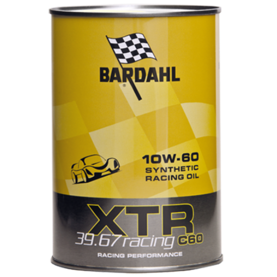 Engine Oil  BARDAHL XTR RACING 39,67 10W60