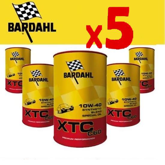 Engine Oil Bardahl XTC60 10w40 5L