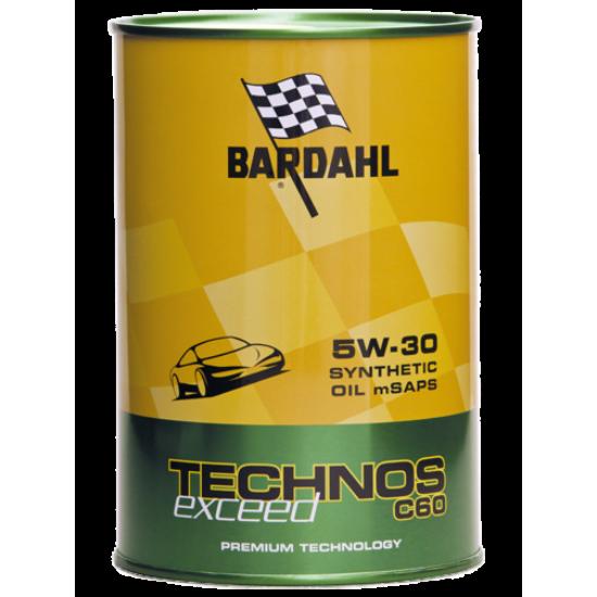 BARDAHL TECHNOS C60 5W30 m-SAPS EXCEED 1 KG