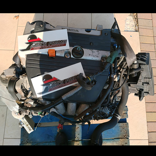 Complete Engine + Gearbox Honda Accord K20A6 68205KM