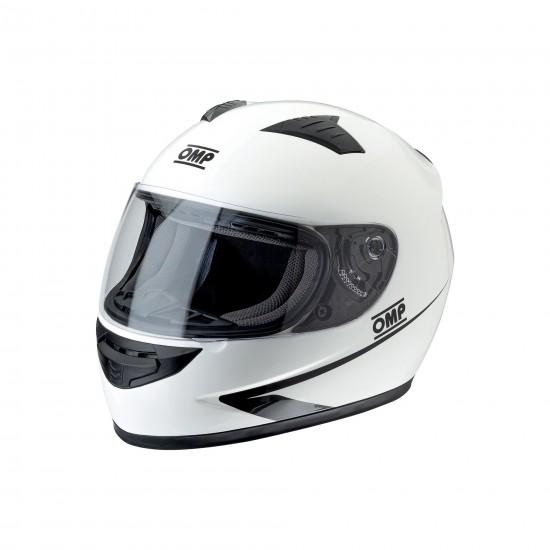 Helmet Omp Circuit White Circuit Omp  by https://www.track-frame.com
