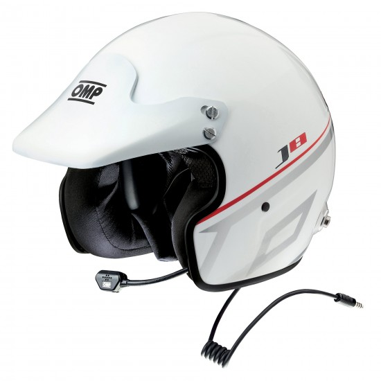Helmet Omp J8 Intercom Nexus White