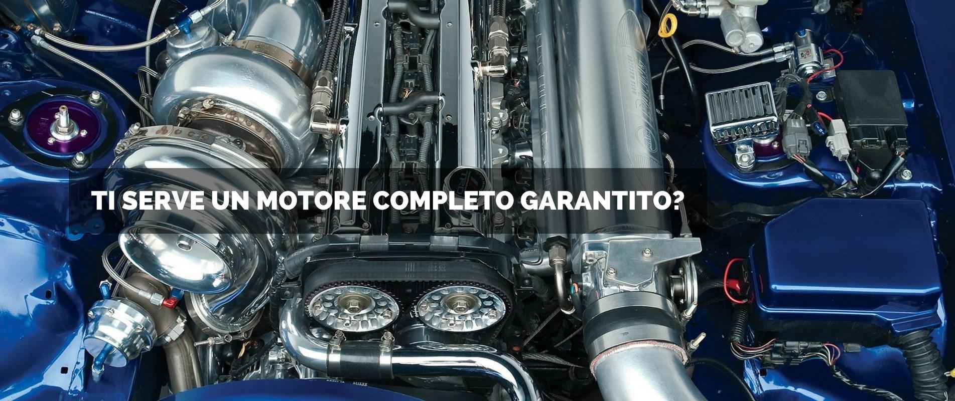 Track- Frame motori importati completi garantiti