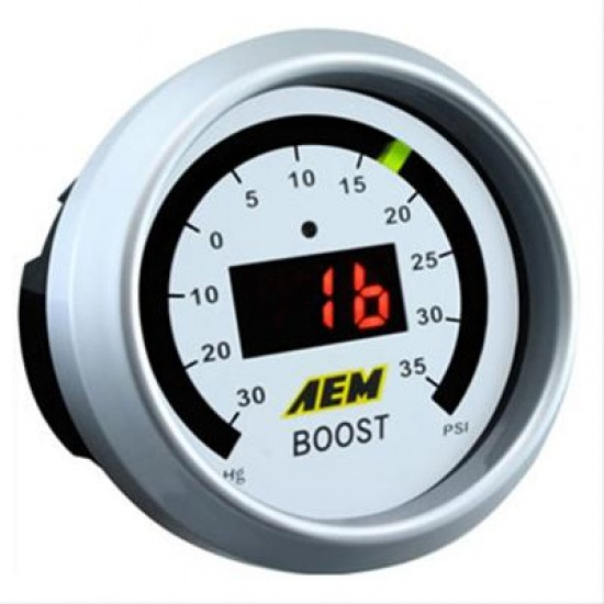 Aem Electronics Gauge Boost 52mm  30-35Psi 30-4406