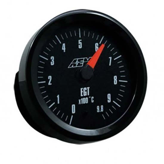 AEM Analog Metric EGT Gauge Outputs data loggers 0-980C 30-5131M