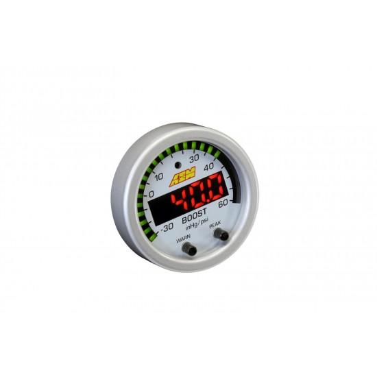 Aem Electronics Gauge Boost 52mm Psi/Bar 30-60Psi 1-4Bar  30-0308