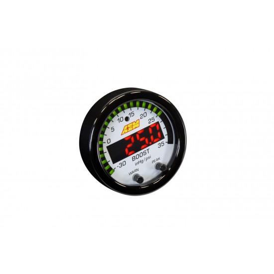 Aem Electronics Gauge Boost 52mm Psi/Bar 30-0306